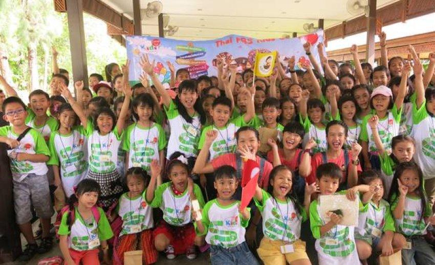 "Thai PBS Kids Camp ""มหัศจรรย์ เรียนรู้วิถีไทย กินอยู่อย่างไทย"""