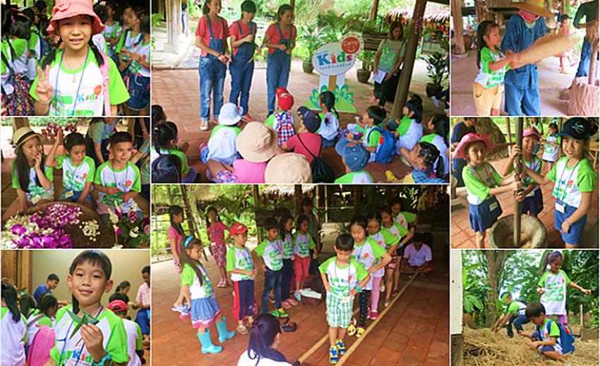 """Thai PBS Kids Camp """"มหัศจรรย์ เรียนรู้วิถีไทย กินอยู่อย่างไทย"""" กับรายการหม้อข้าวหม้อแกง"""