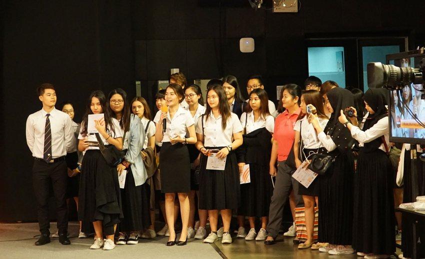 ไทยพีบีเอส ต้อนรับคณะเยี่ยมชมจากคณะศิลปศาสตร์ มหาวิทยาลัยเกษมบัณฑิต