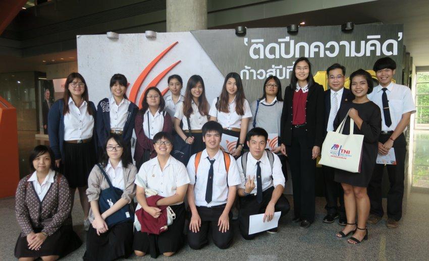 ไทยพีบีเอส ต้อนรับคณะเยี่ยมชมจากคณะเทคโนโลยีสารสนเทศ สถาบันเทคโนโลยีไทย–ญี่ปุ่น