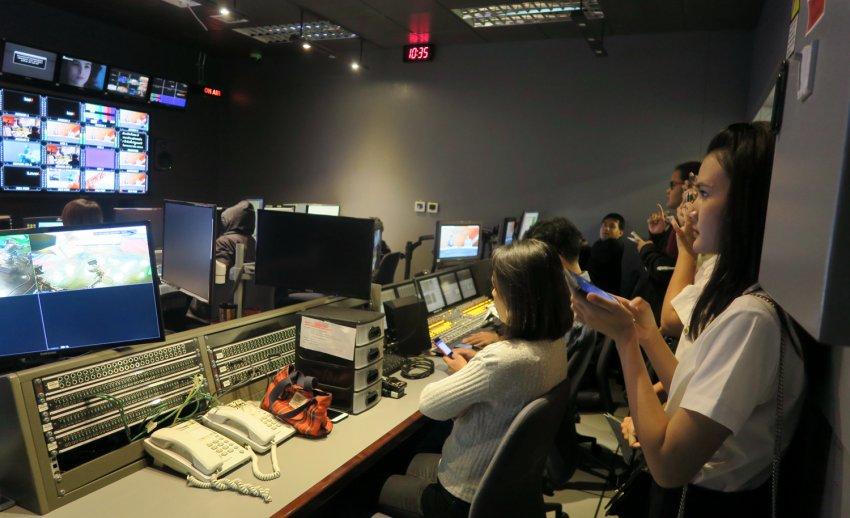 ไทยพีบีเอส ต้อนรับคณะเยี่ยมชมจากคณะเทคโนโลยีสื่อสารมวลชน มหาวิทยาลัยเทคโนโลยีราชมงคลธัญบุรี