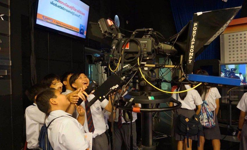 ไทยพีบีเอส ต้อนรับคณะเยี่ยมชมจากโรงเรียนนานาชาติเซนต์สตีเฟ่นส์ กรุงเทพฯ
