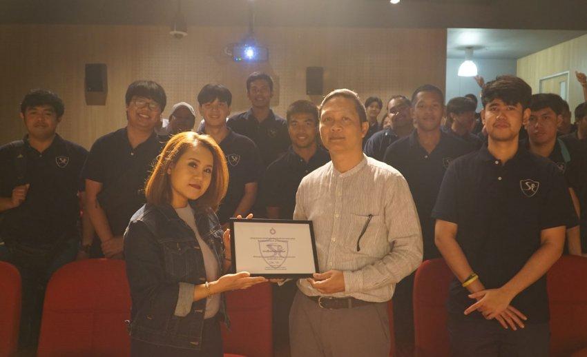 ไทยพีบีเอส ต้อนรับคณะเยี่ยมชมจาก สาขาวิชานิเทศศาสตร์การกีฬา มหาวิทยาลัยรังสิต