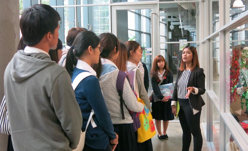 ไทยพีบีเอส ต้อนรับคณะเยี่ยมชมจาก ภาควิชาเทคโนโลยีและสื่อสารการศึกษา จุฬาลงกรณ์มหาวิทยาลัย