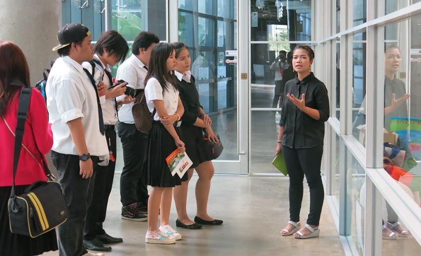 ไทยพีบีเอส ต้อนรับคณะเยี่ยมชมจากมหาวิทยาลัยเทคโนโลยีราชมงคลตะวันออก