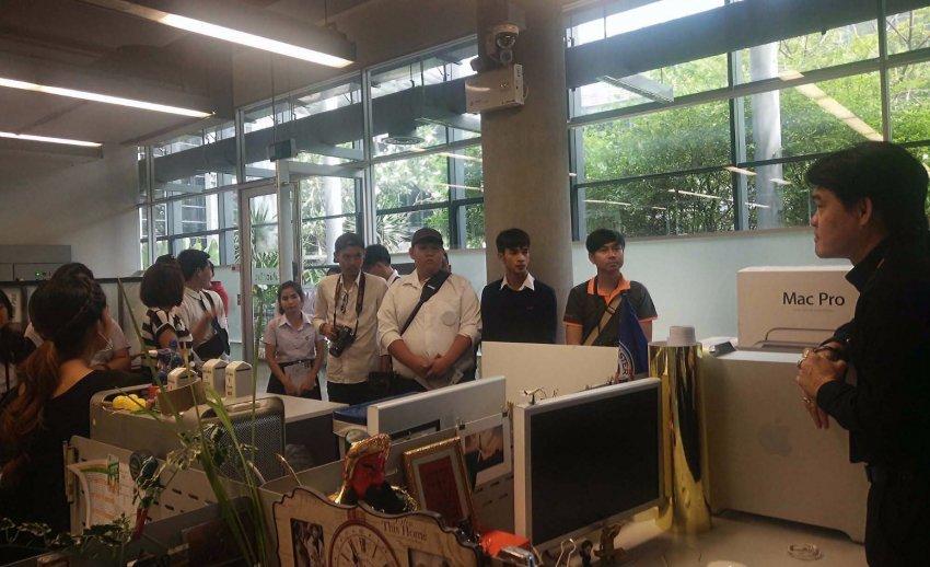 ไทยพีบีเอส ต้อนรับคณะเยี่ยมชมจากคณะวิทยาการจัดการ มหาวิทยาลัยราชภัฏสกลนคร