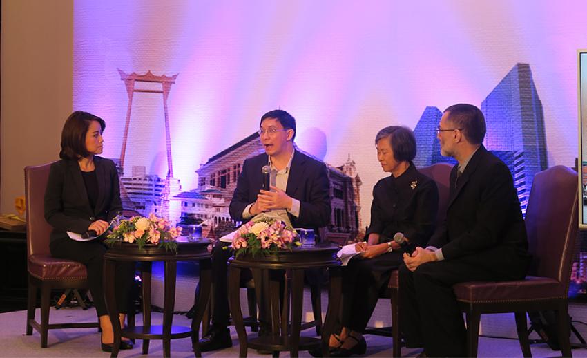 """ไทยพีบีเอสเปิดตัวสารคดี """"วิวัฒนาการเศรษฐกิจไทย บนเส้นทางโลกาภิวัตน์"""" เริ่ม 9 ก.ย.นี้"""