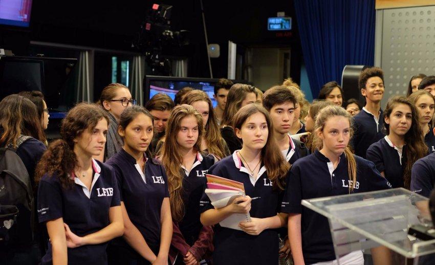 ไทยพีบีเอส ต้อนรับคณะเยี่ยมชมจากโรงเรียนฝรั่งเศสนานาชาติกรุงเทพ