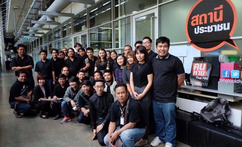 ไทยพีบีเอส ต้อนรับคณะเยี่ยมชมจากศูนย์การเรียนรู้แบบบูรณาการ บริษัท เอสซีจี ผลิตภัณฑ์ก่อสร้าง จำกัด